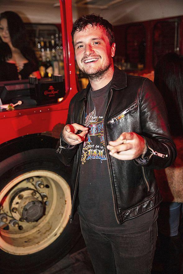 Josh Hutcherson, Beck, Anderson .Paak, Scheana Shay and More at On The Record Speakeasy and Club at Park MGM
