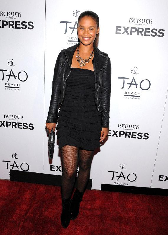 Joy Bryant at the Express Launch