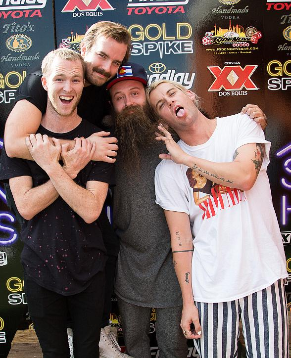 Cage The Elephant, HAIM, Judah and The Lion, Wiz Khalifa, Coin and Dua Lipa Perform in the Real World Suite at Gold Spike Las Vegas