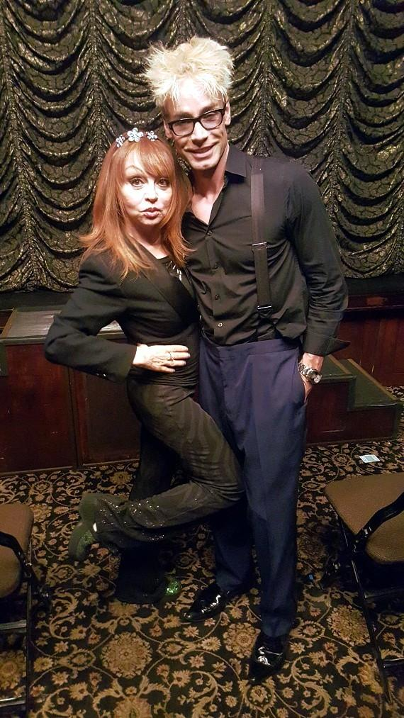 Judy Tenuta and Murray SawChuck