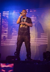 Juicy J performs at TAO Nightclub