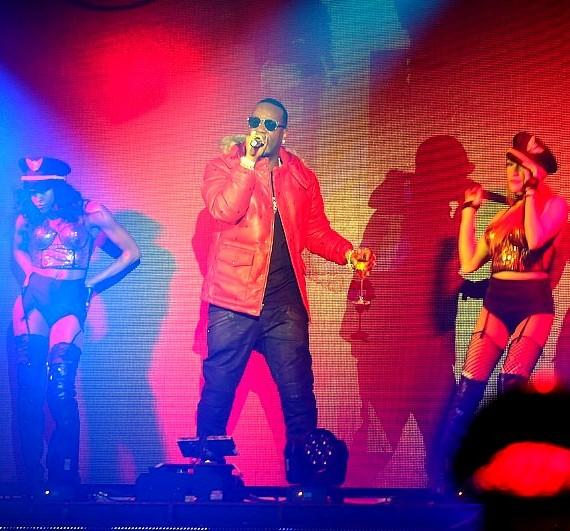 Hip Hop Artist Juicy J performs at TAO Nightclub at The Venetian Las Vegas