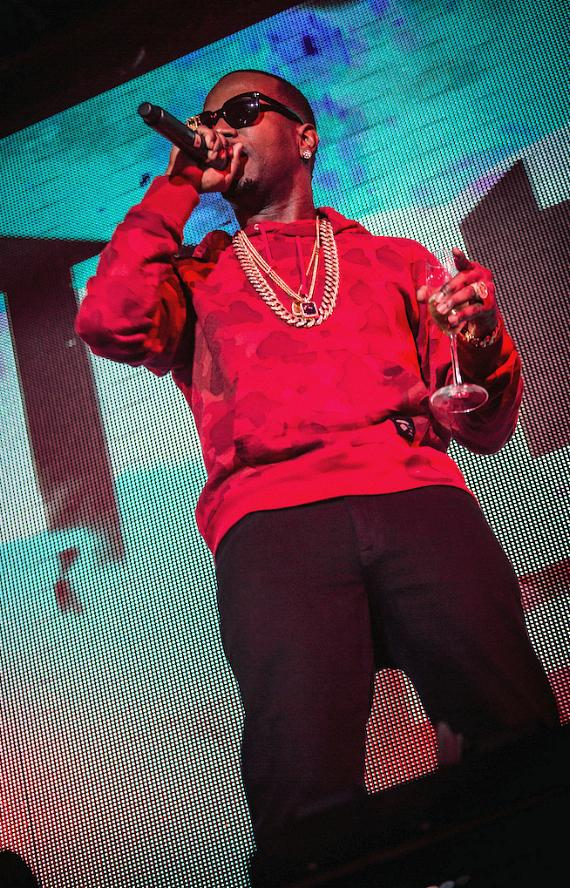 Juicy J Hosts Worship Thursday at TAO