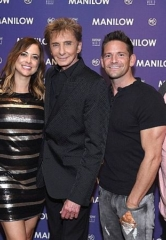 Jeff Timmons and Justin Jeffre of 98° Enjoy Barry Manilow's Show at Westgate Las Vegas Resort & Casino