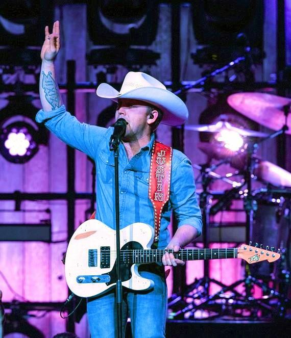 Country Artist Justin Moore Performs at The Chelsea inside The Cosmopolitan of Las Vegas