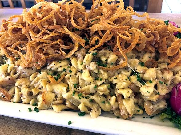 Hofbräuhaus Las Vegas Celebrates Time-Honored Tradition of Food Challenges with Over-The-Top Käsespätzle Dish