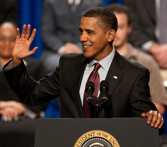 President Obama speaks in Las Vegas