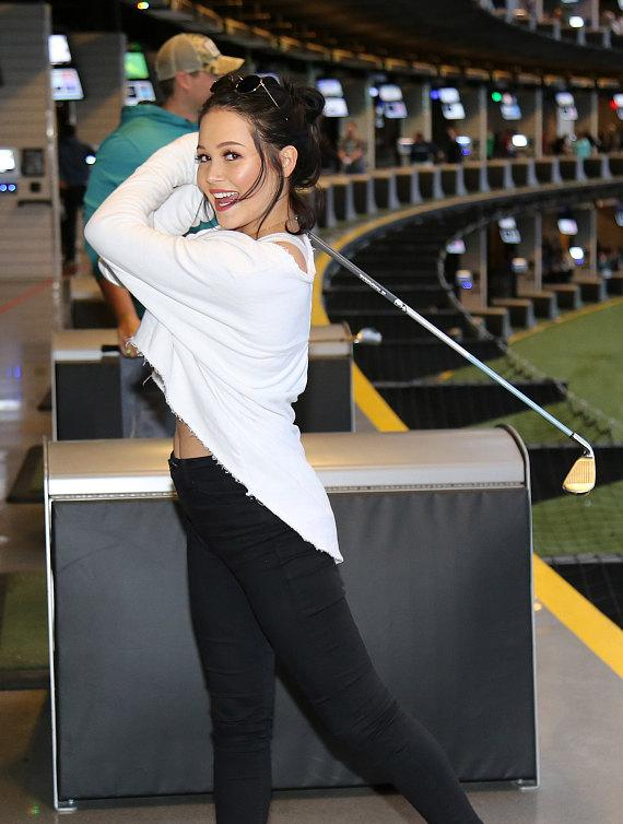 Kelli Berglund Celebrates 21st Birthday in at Topgolf Las Vegas