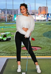Kelli Berglund Celebrates 21st Birthday at Topgolf Las Vegas