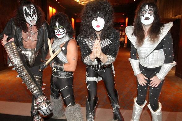 Tribute Band KISS Army Performs at Wasted Space