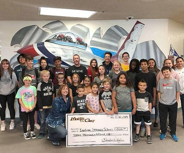 "Monster Mini Golf Donates $6k to Las Vegas Schools as Part of Its Nationwide ""Share a Pair to Support Public Education"" Campaign"