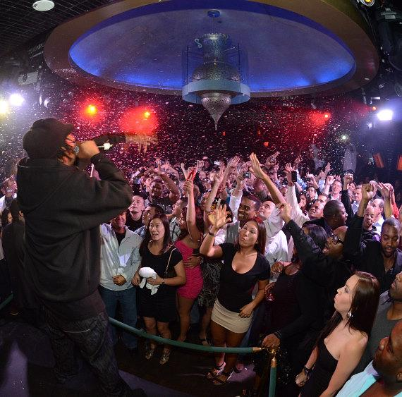 KRS One performs at LAVO