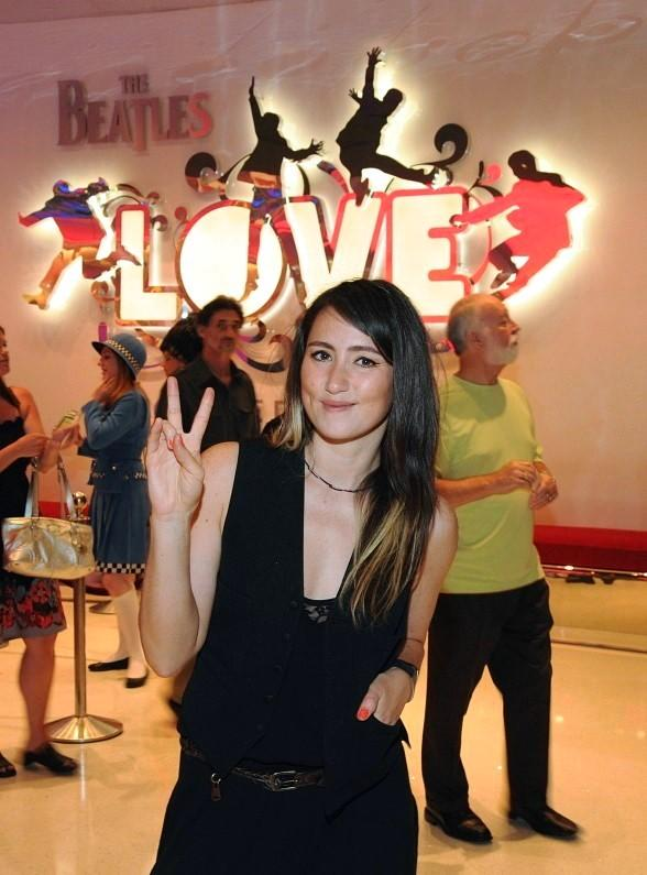 KT Tunstall Attends Performance of The Beatles LOVE by Cirque du Soleil