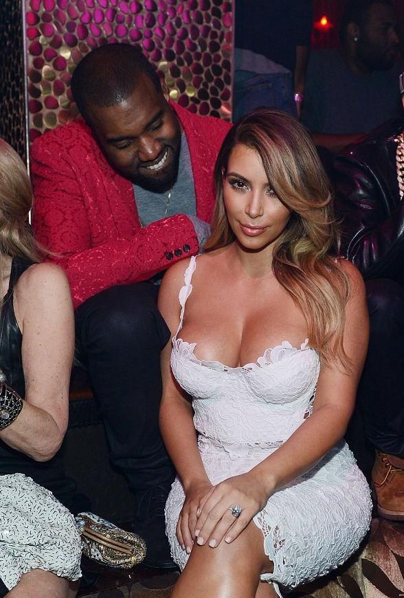 Kim Kardashian Celebrates Her Birthday at TAO