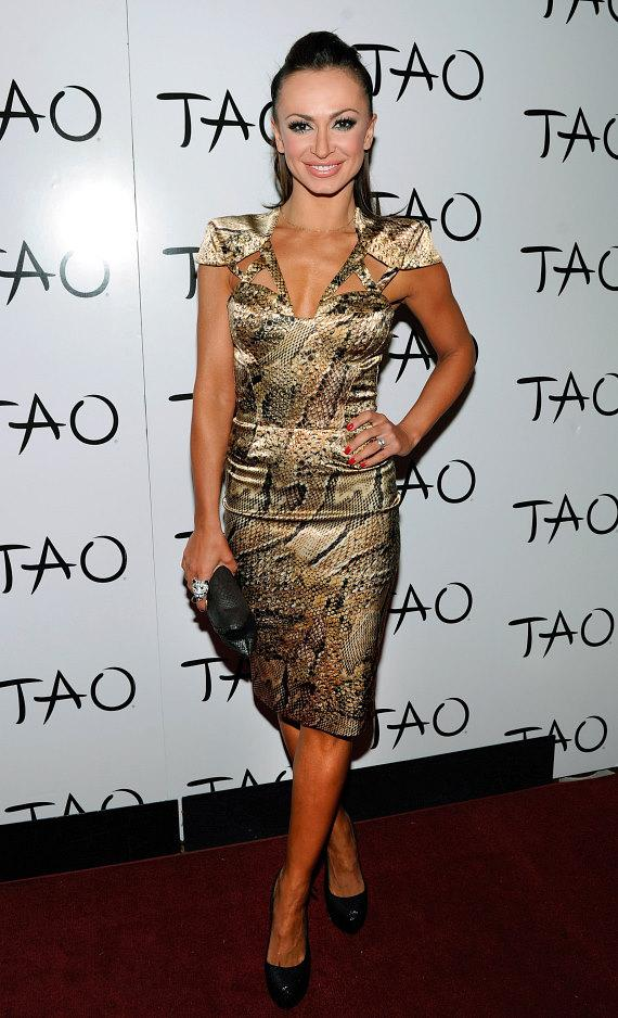 Karina Smirnoff on red carpet at TAO