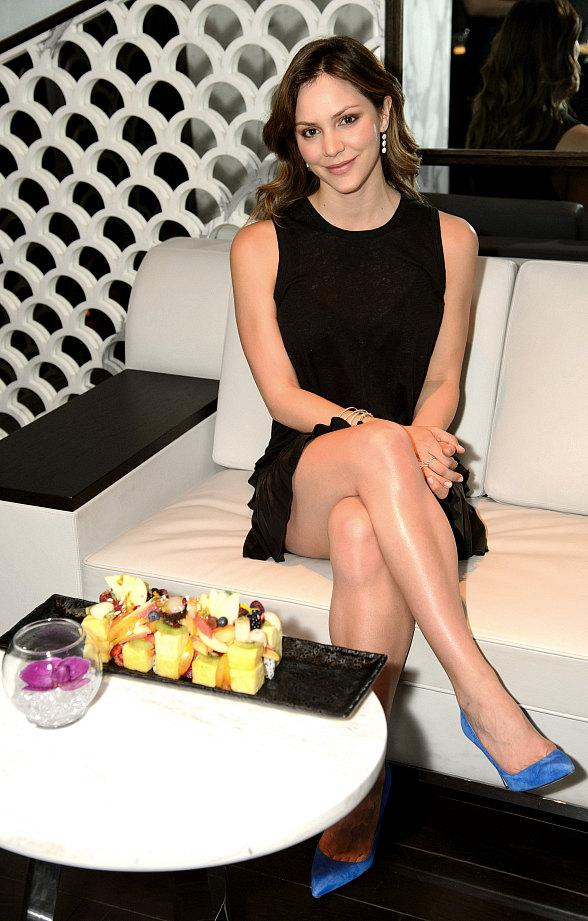 Katharine McPhee and Scott Eastwood Spotted at Hakkasan Restaurant at MGM Grand in Las Vegas