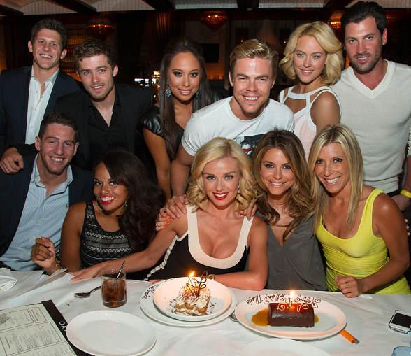 Dancing with the Stars Maria Menounos and Katherine Jenkins Celebrate Birthdays at LAVO