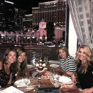 Emmy Award-Winner Katie Couric Dines at GIADA