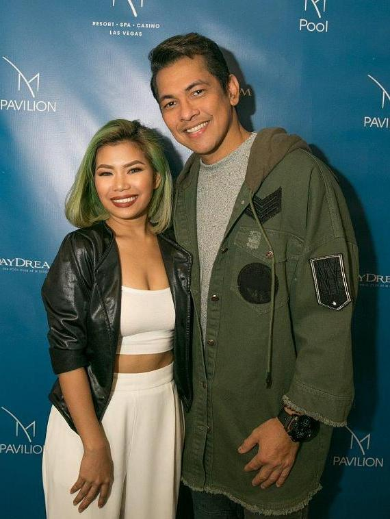 Katrina Velarde and Gary Valenciano at M Resort Spa Casino