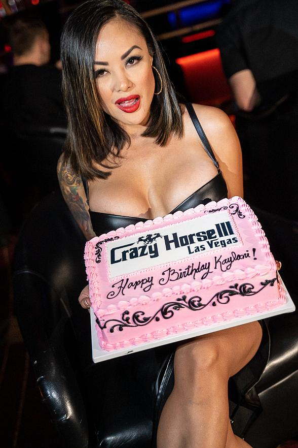 Kaylani Lei Hosts Birthday Party at Crazy Horse 3 in Las Vegas