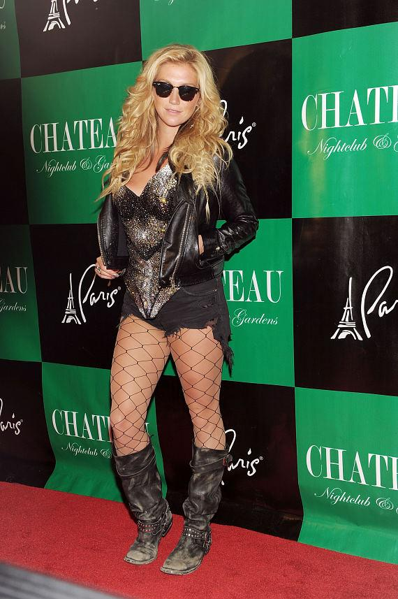 """Ke$ha on the red carpet at Chateau Nightclub & Gardens for her official """"Get Sleazy"""" tour after party performance"""