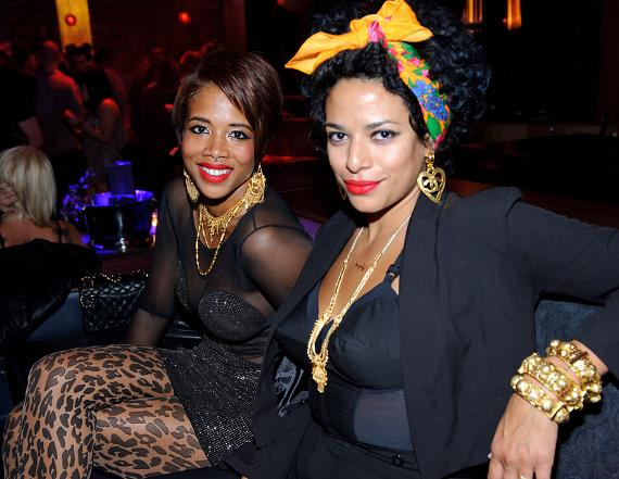 Kelis and DJ Rashida at Marquee