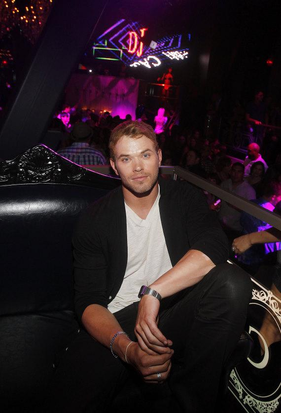 Kellan Lutz in Chateau Nightclub & Gardens