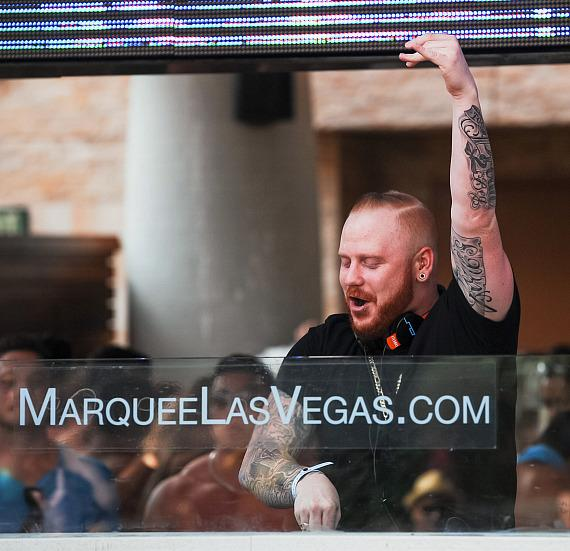 Kennedy Jones at Marquee Dayclub Dome Launch
