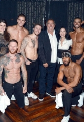Producer / Director Kenny Ortega Makes an Appearance at Magic Mike Live in Hard Rock Hotel Las Vegas