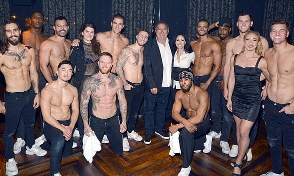Producer/Director Kenny Ortega Makes an Appearance at Magic Mike Live in Hard Rock Hotel Las Vegas