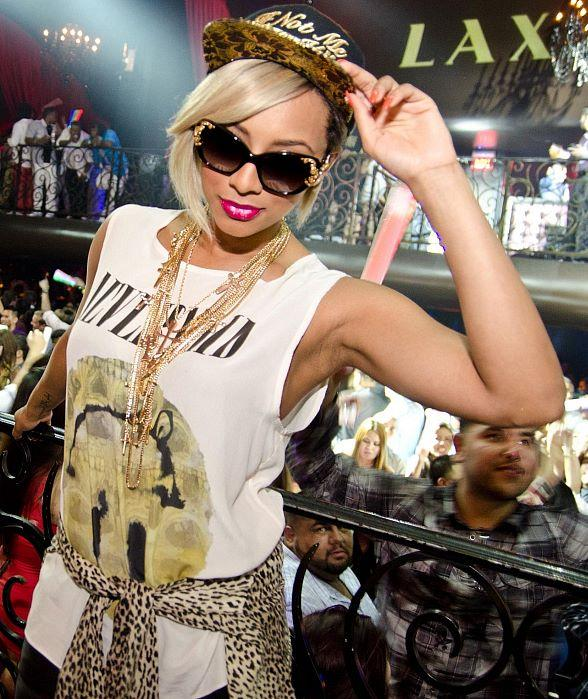 Pop Singer Keri Hilson Blows Out Memorial Day Weekend with Performance at LAX Nightclub