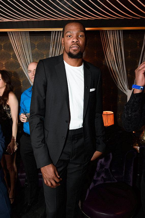 Kevin Durant at Beauty & Essex