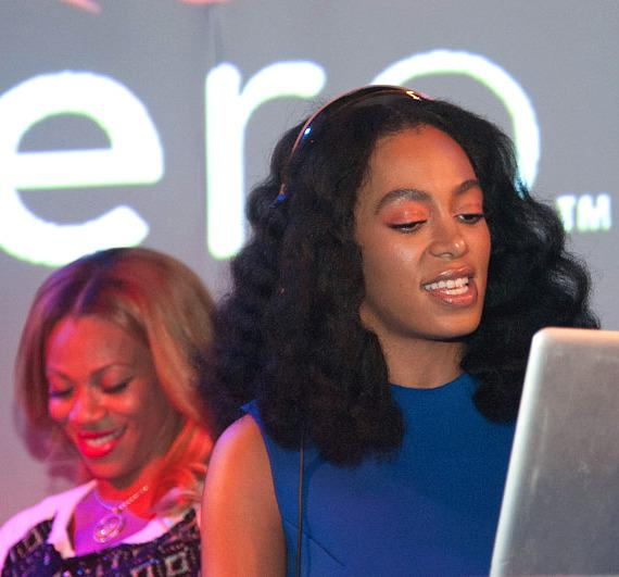 Solange Knowles DJs at HartBeat Weekend