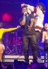 Kevin Hart Spotted at Drai's Nightclub Las Vegas