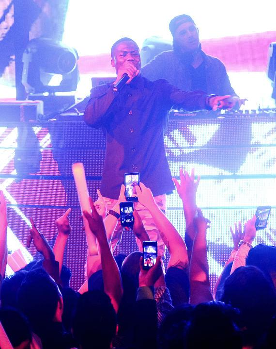 Kevin Hart at Marquee Nightclub