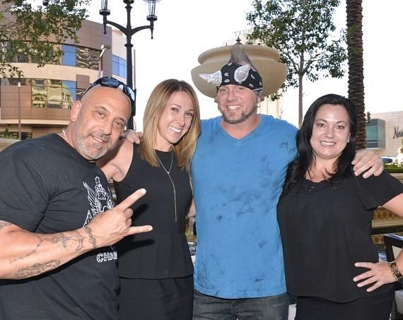 Kevin Mack, Meredith Weiner, Horny Mike and Jayme Martinez