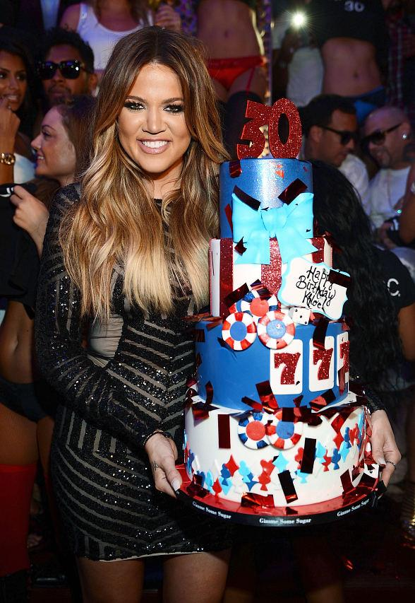 Khloe Kardashian Celebrates 30th Birthday at TAO in Las Vegas