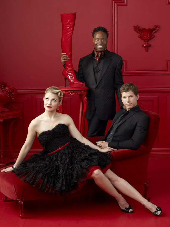 Kinky Boots - Billy Porter, Stark Sands and Annaleigh Ashford