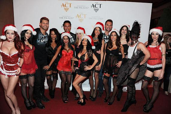 'Kiss For The Cure' benefit at The Act Nightclub