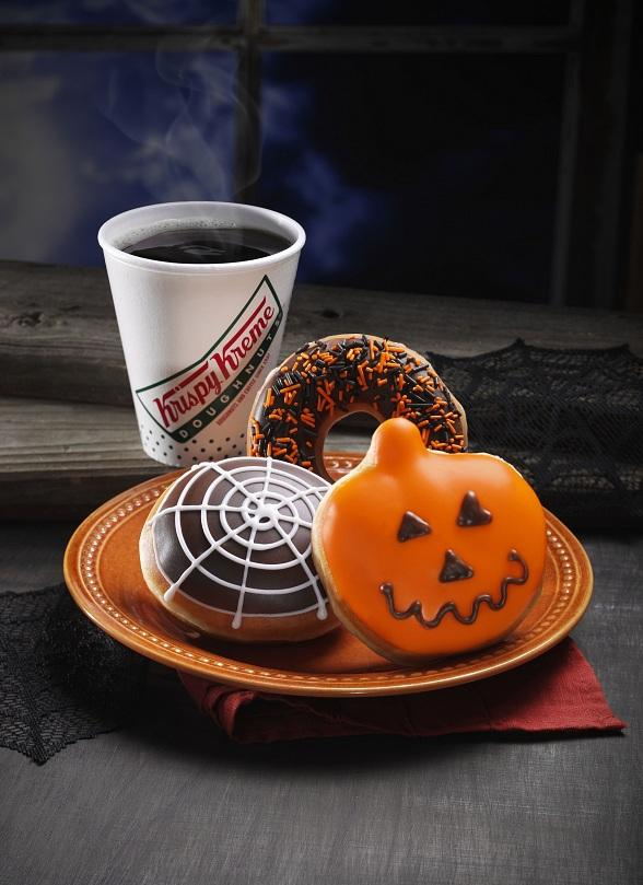 Krispy Kreme to Get Spooky with Specialty Krispy Skremes! and Free Doughnuts on Halloween