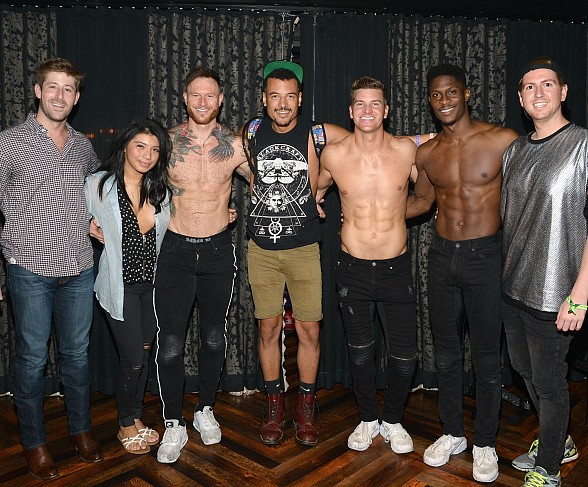 Kristin Maldonado from Pentatonix Spotted at Magic Mike Live Las Vegas