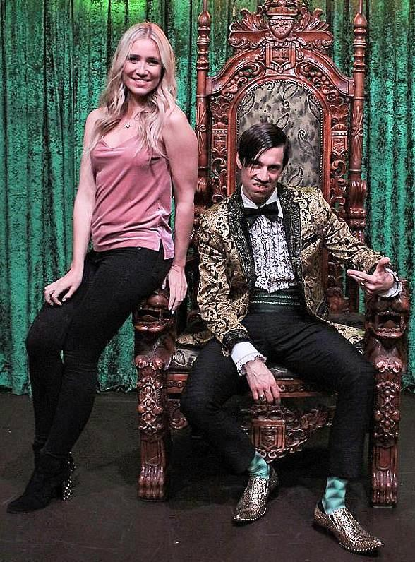 "Kristine Leahy Attends ""Absinthe"" at Caesars Palace Las Vegas"