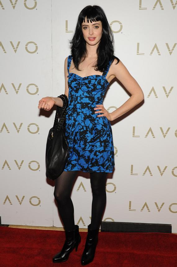 Krysten Ritter on the red carpet at LAVO