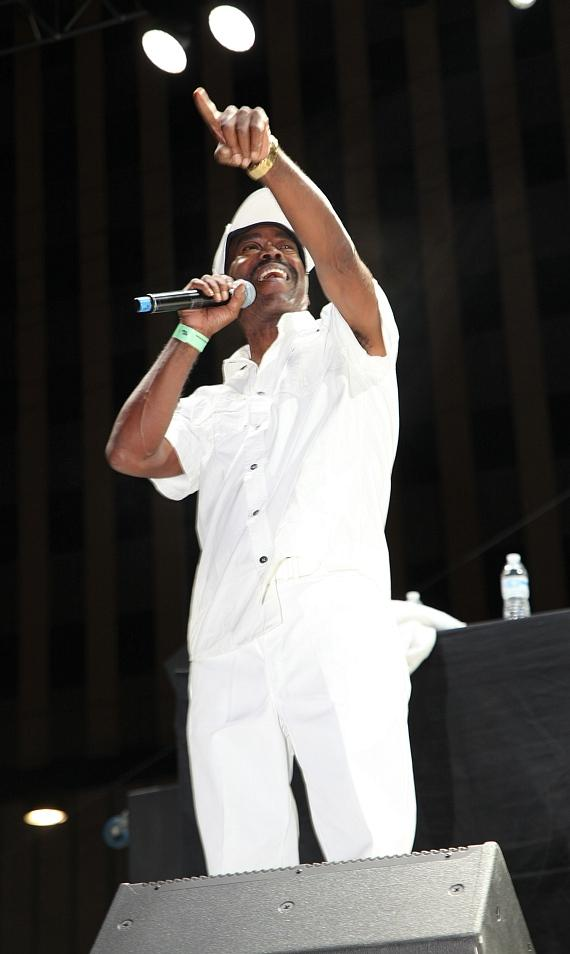 Kurtis Blow performs at DLV Events Center in Las Vegas