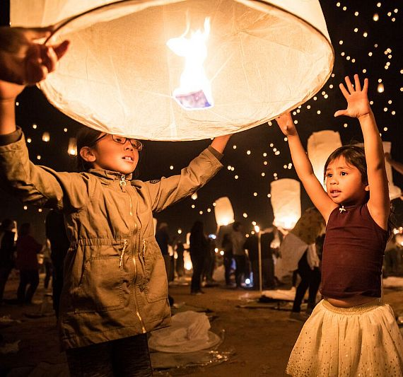 RiSE Lantern Festival Unites Thousands of Attendees for Year Four