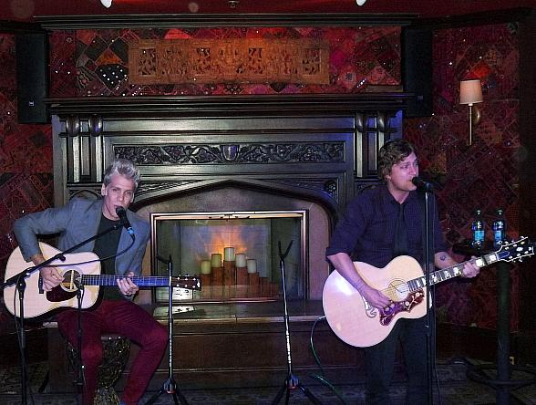 Rob Thomas and Kyle Cook of Matchbox Twenty perform at House of Blues Las Vegas