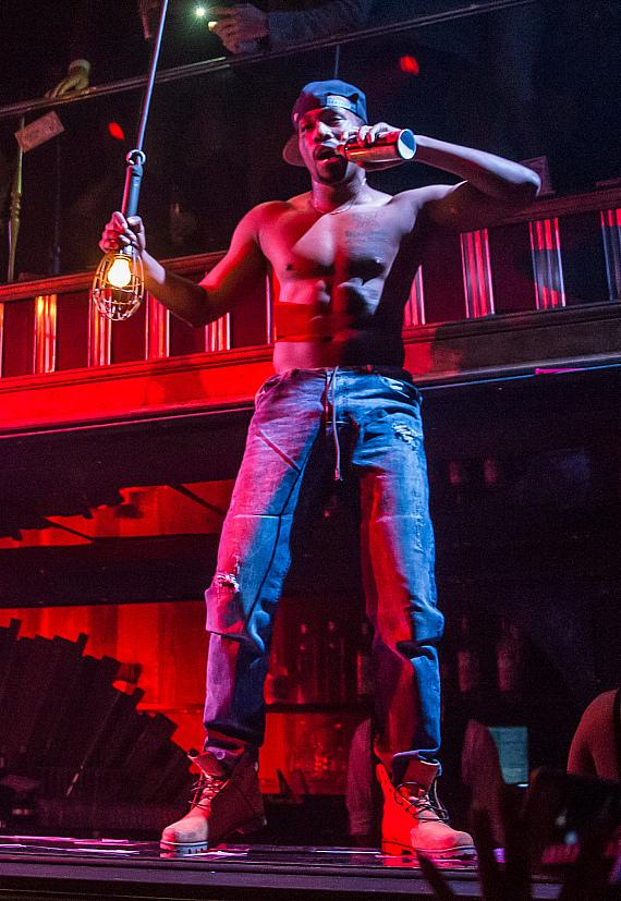 Kyo Dominick Performs in MAGIC MIKE LIVE LAS VEGAS at Hard Rock Hotel & Casino