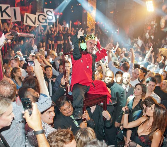 LA Kings celebration at TAO