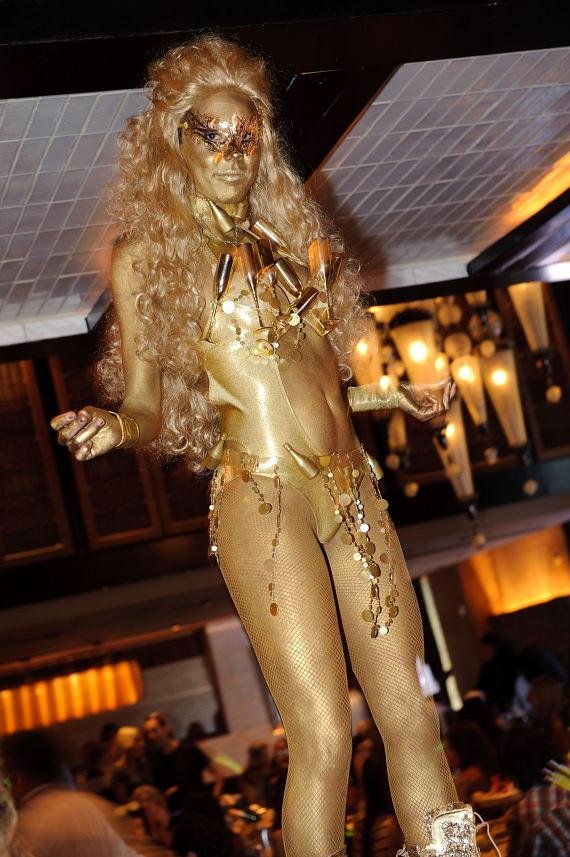Gold Girl at LAVO Saturday Brunch