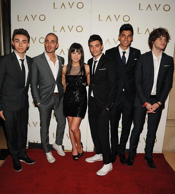 The Wanted with Carly Rae Jepsen at LAVO